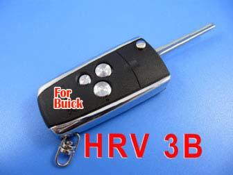 buick flip remote key shell 3 button