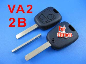 citroen remote key 2 button434MHZ ( without groove)