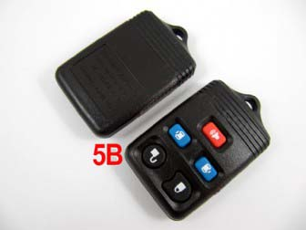 Ford remote shell 5 button