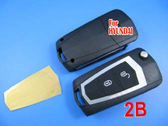 Hyundai Santafer.old Elentra modified remote flip key shell (battery separate)
