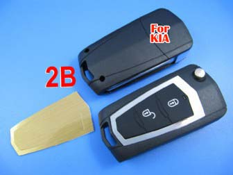 KIA sportage modfied remote key shell 2 button