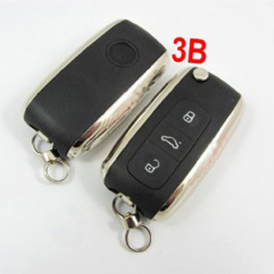 vw Seat modified flip remote key shell 3 button