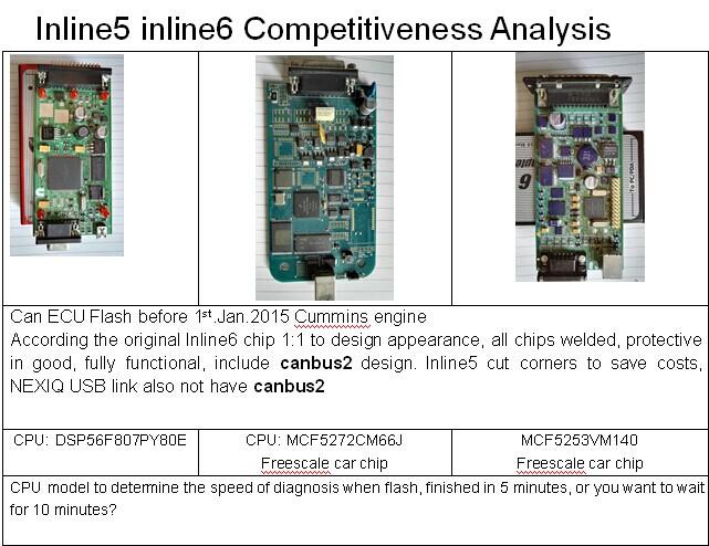 US$185 00 Cummins INLINE 6 Data Link Adapter Cummins Heavy