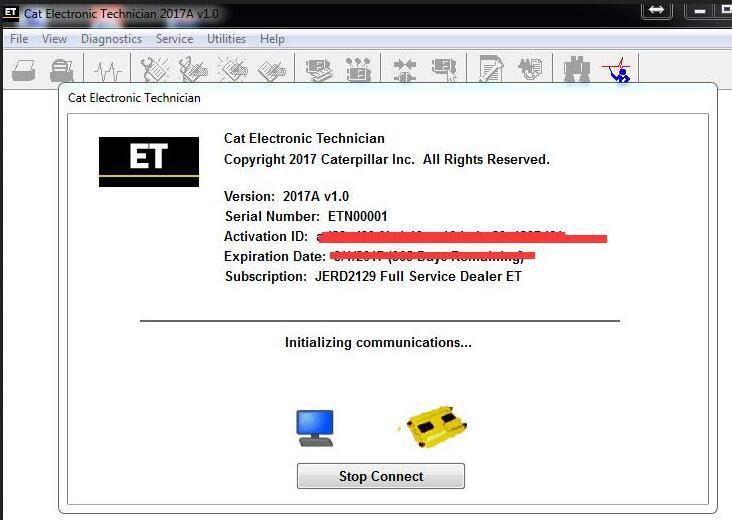 Caterpillar electronic technician software download