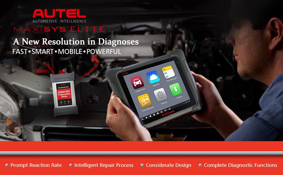 US$3,150 00 Autel Maxisys Elite Diagnostic Tool with J2534 ECU