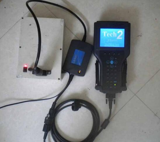 GM TECH2 CANDI Interface Instructions and Self-testing