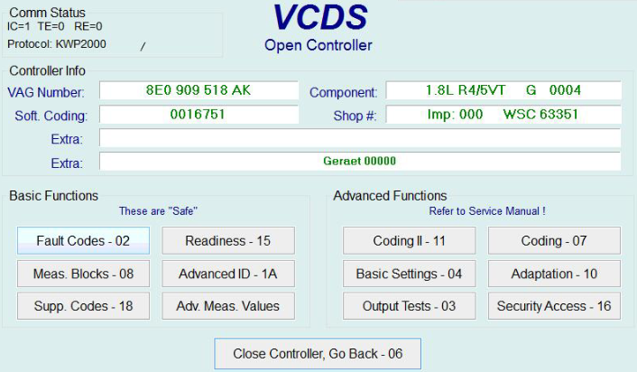 US$23 00 VAG Diagnostic Tool VAG-COM For VAG VW Audi Seat Skoda V18