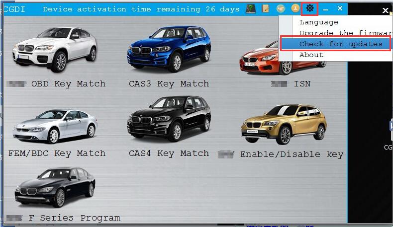 CGDI Prog BMW MSV80 Car Key Programmer for BMW CAS1/CAS2