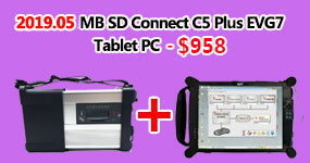 MB SD Connect C5 with Super Engineering Software DTS monaco And