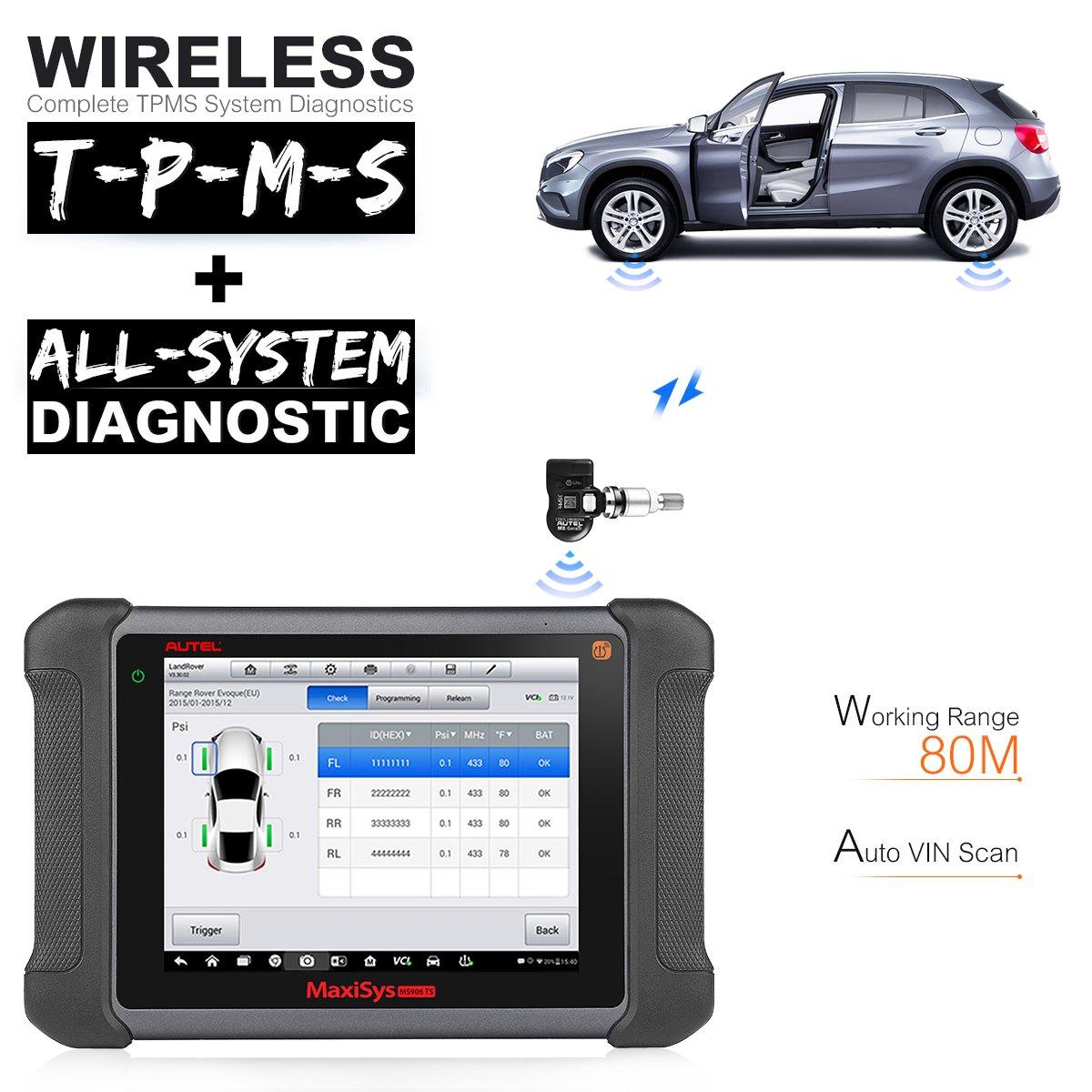 US$1,599 00 Original AUTEL MaxiSYS MS906TS Auto Obd2 Scanner