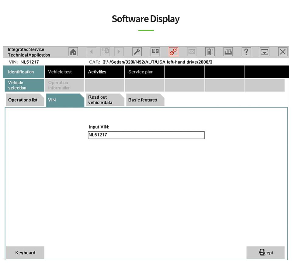 US$175 00 VXDIAG VCX SE BMW Diagnostic and Programming Tool Better